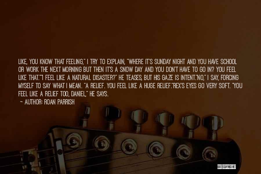 Say What You Feel And Mean What You Say Quotes By Roan Parrish