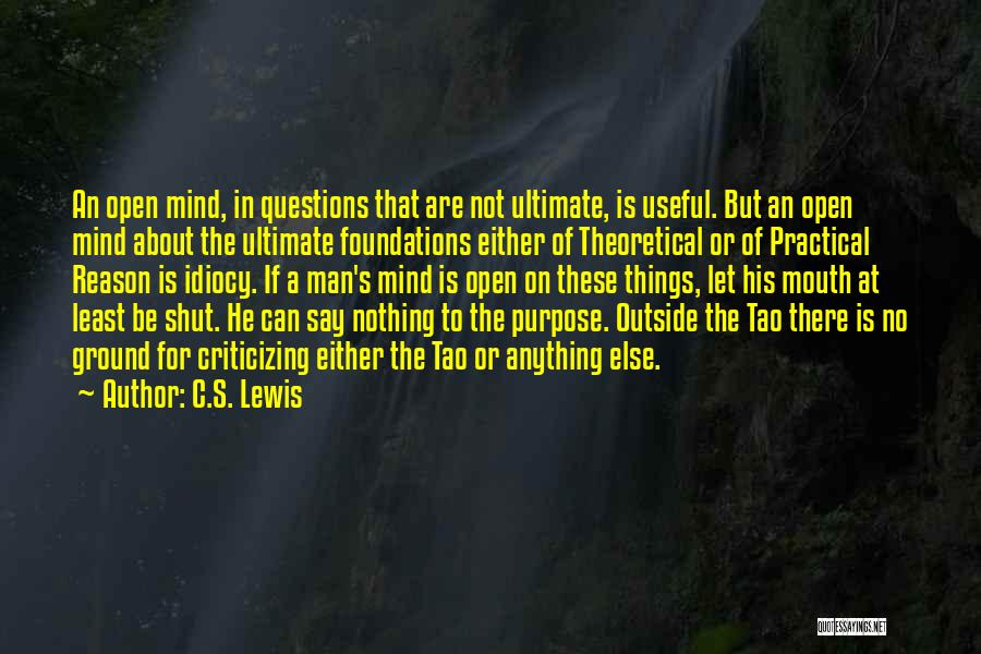 Say Wrong Things Quotes By C.S. Lewis