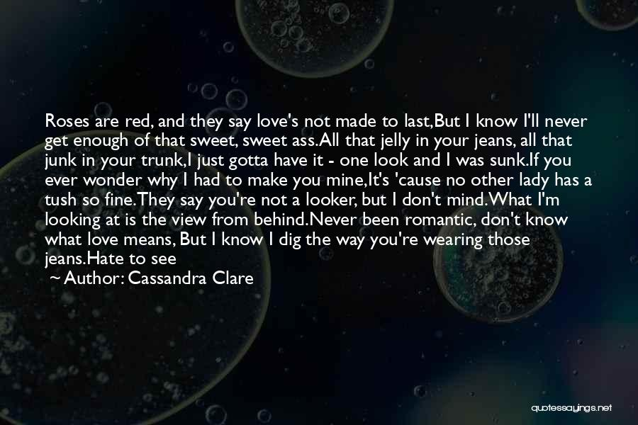 Say You'll Never Go Quotes By Cassandra Clare