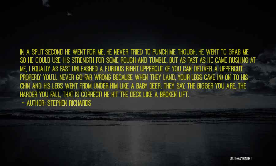 Say You'll Never Go Quotes By Stephen Richards