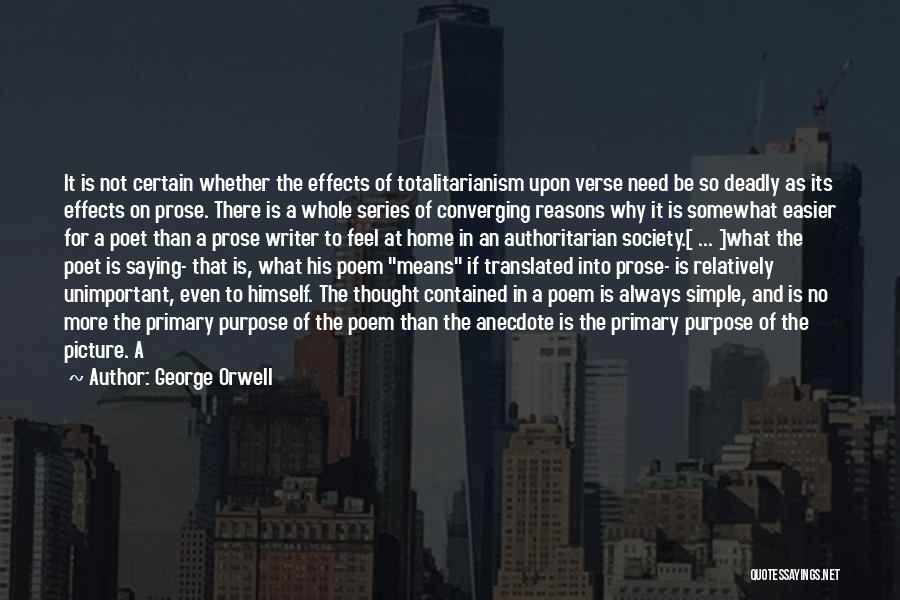 Saying Sorry And Not Meaning It Quotes By George Orwell