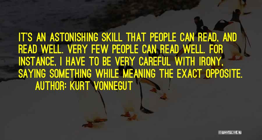 Saying Sorry And Not Meaning It Quotes By Kurt Vonnegut