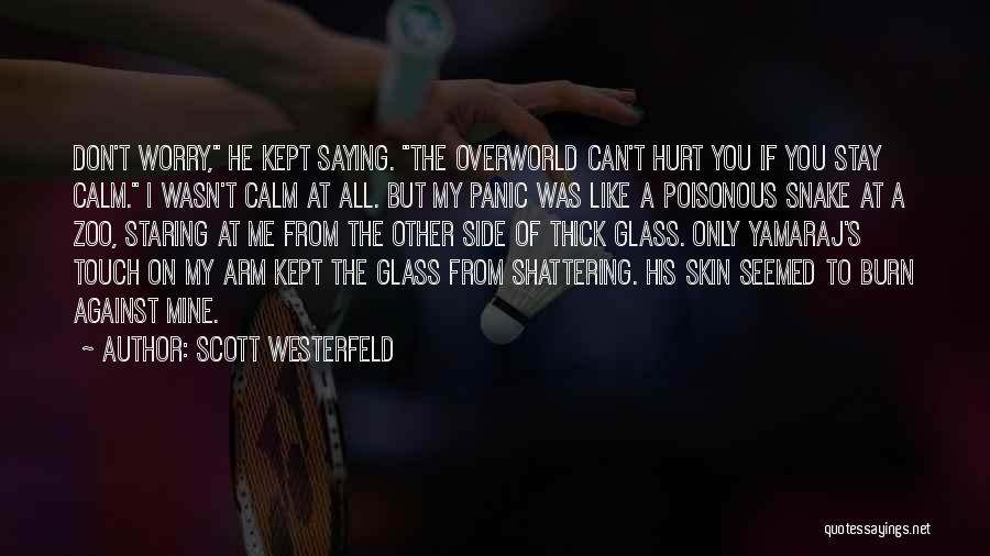 Saying Sorry To Someone You Hurt Quotes By Scott Westerfeld
