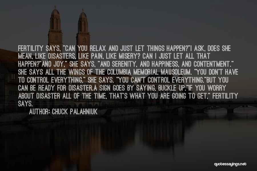 Saying Things We Don't Mean Quotes By Chuck Palahniuk