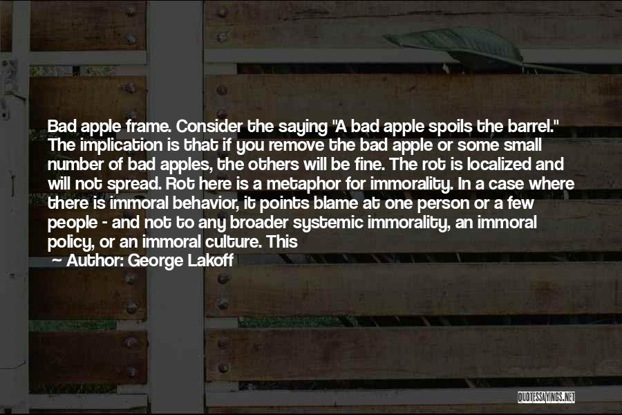 Saying You're Fine Quotes By George Lakoff