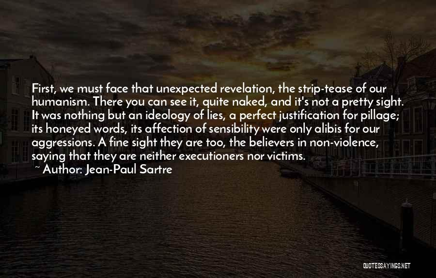 Saying You're Fine Quotes By Jean-Paul Sartre