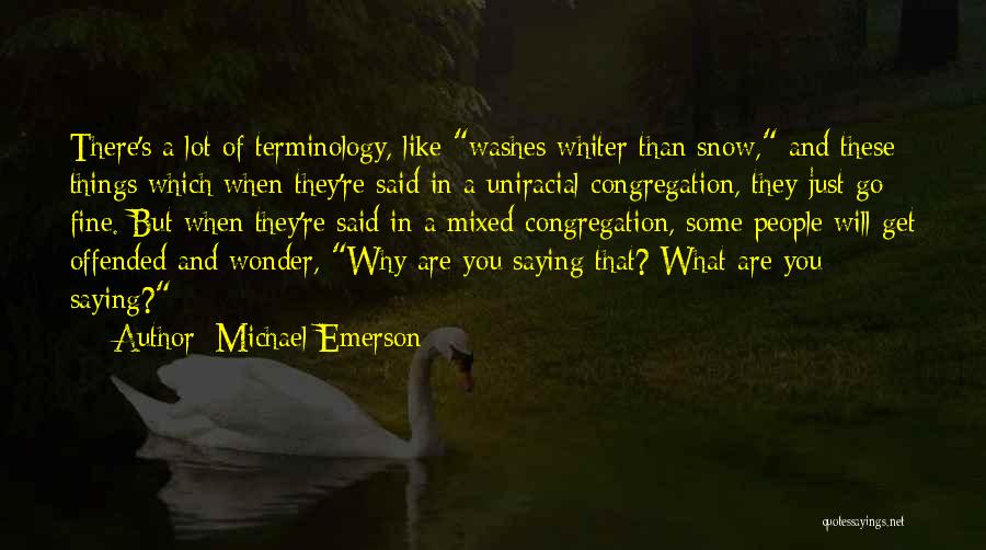Saying You're Fine Quotes By Michael Emerson