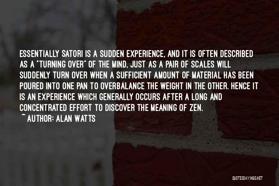 Scales And Weight Quotes By Alan Watts