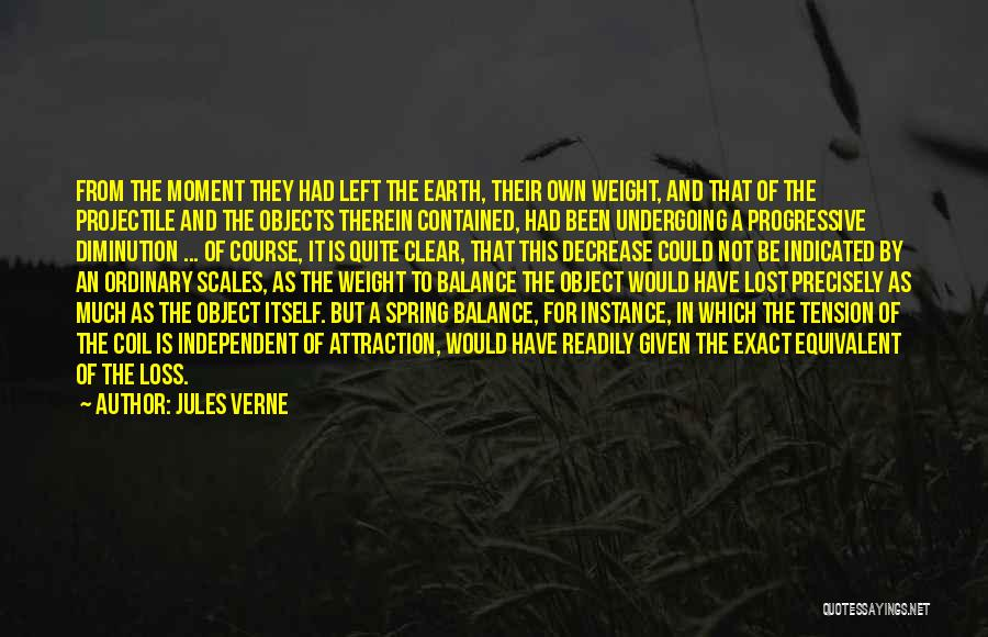 Scales And Weight Quotes By Jules Verne
