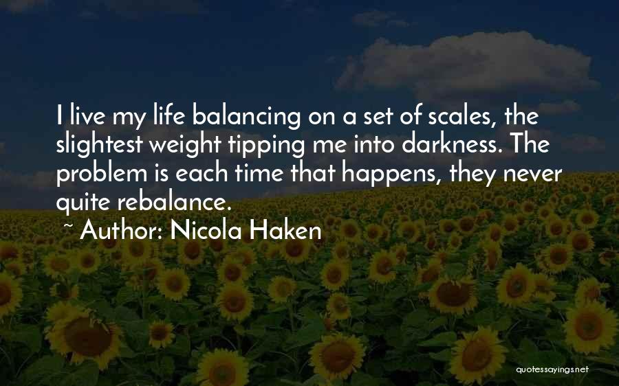 Scales And Weight Quotes By Nicola Haken