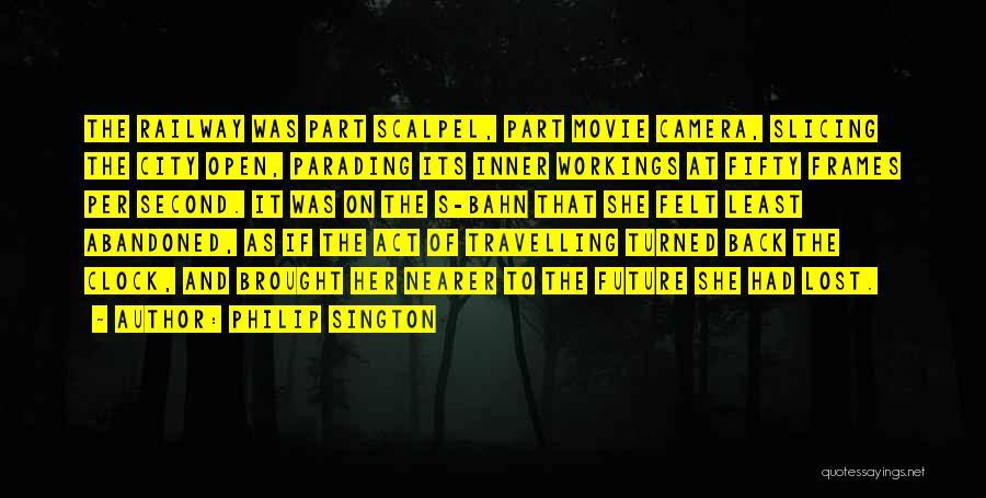Scalpel Quotes By Philip Sington