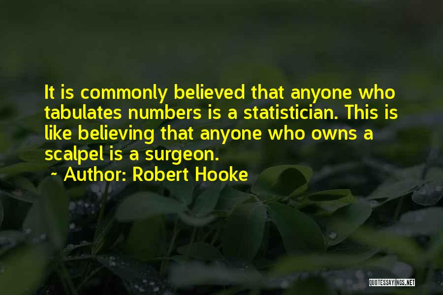 Scalpel Quotes By Robert Hooke