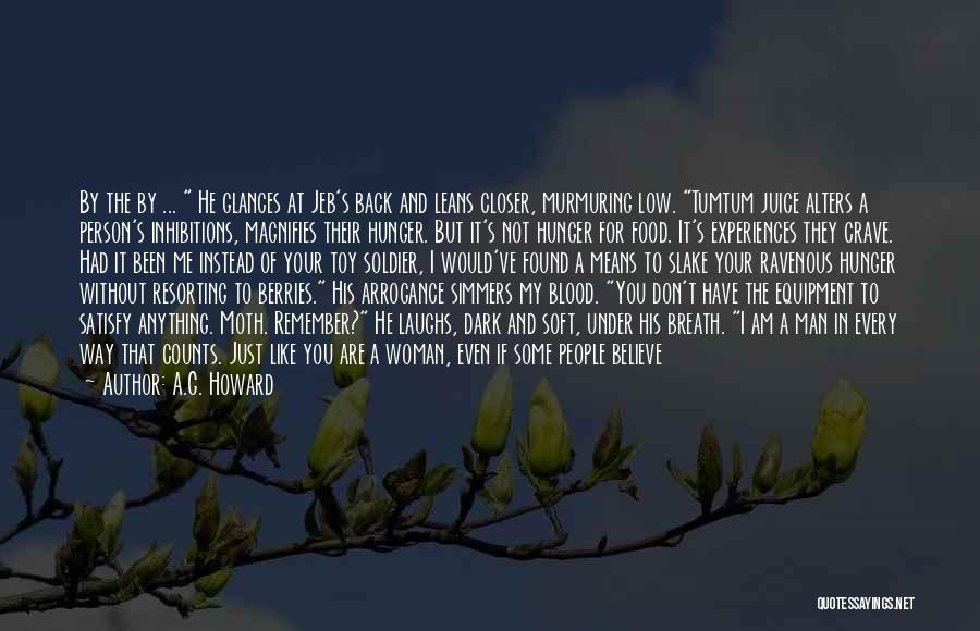 Scared To Like You Quotes By A.G. Howard