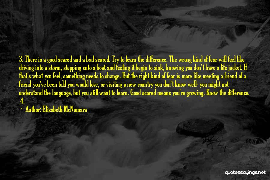 Scared To Like You Quotes By Elizabeth McNamara