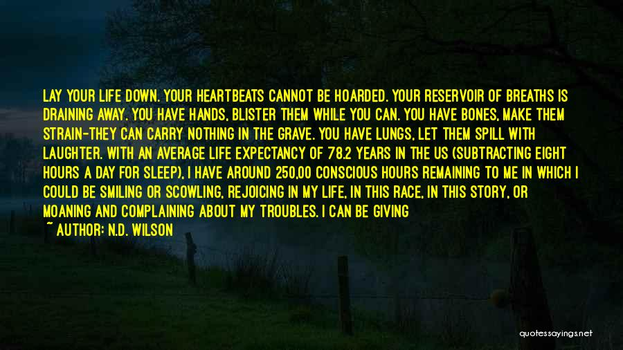 Scared To Like You Quotes By N.D. Wilson