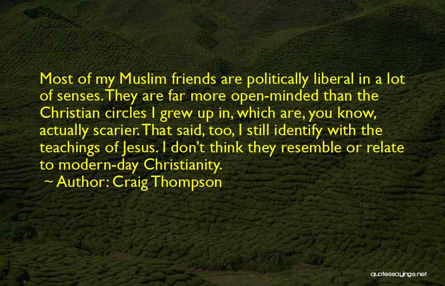 Scarier Than Quotes By Craig Thompson