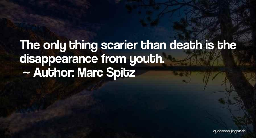 Scarier Than Quotes By Marc Spitz