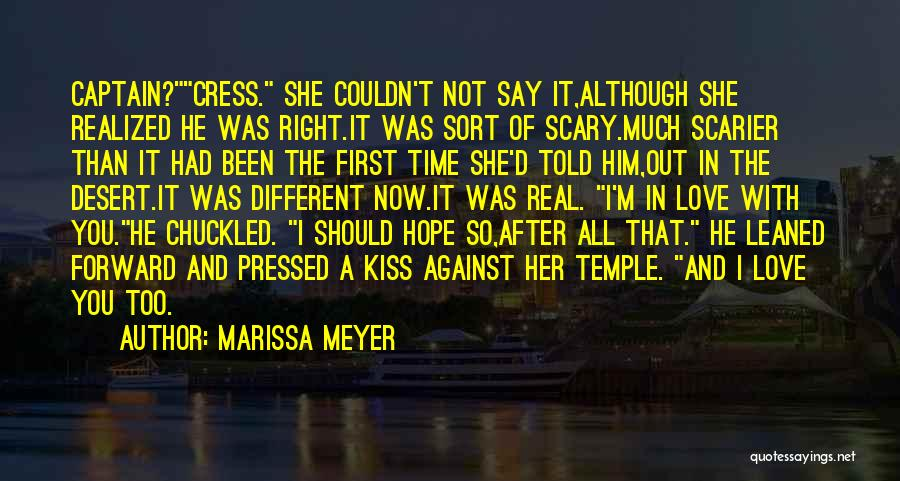 Scarier Than Quotes By Marissa Meyer
