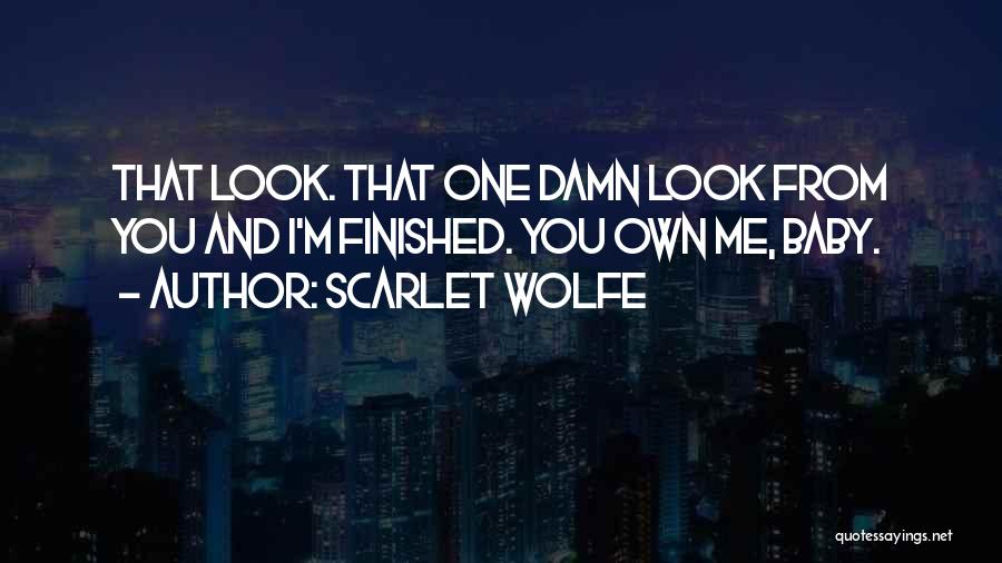 Scarlet Wolfe Quotes 726460