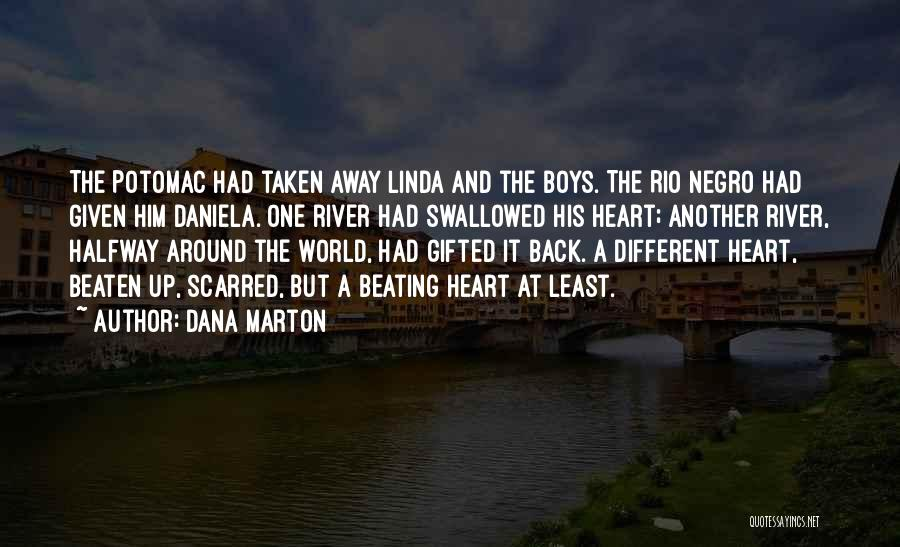 Scarred Quotes By Dana Marton