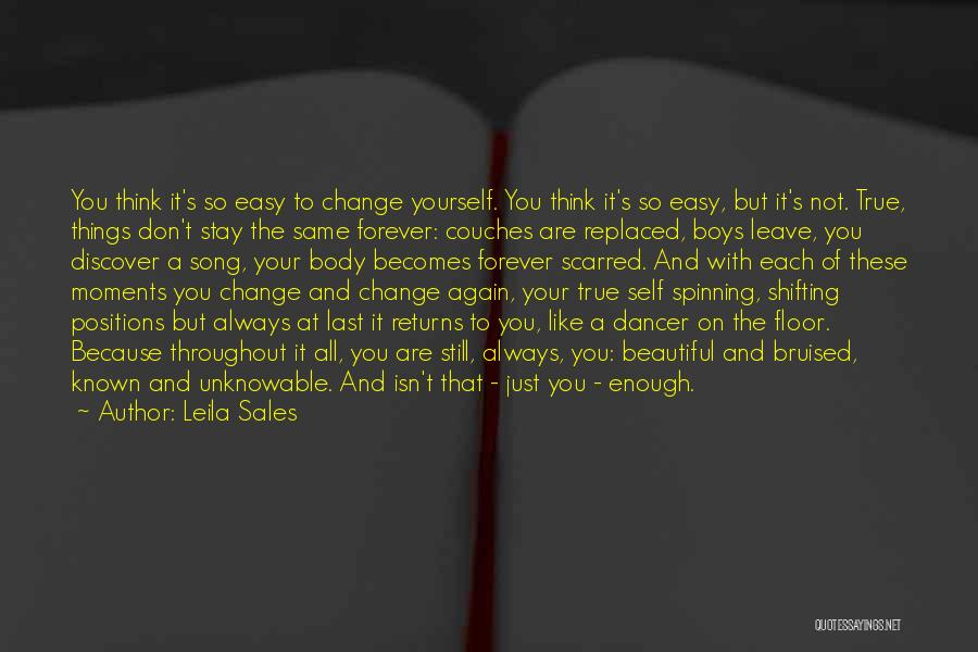 Scarred Quotes By Leila Sales