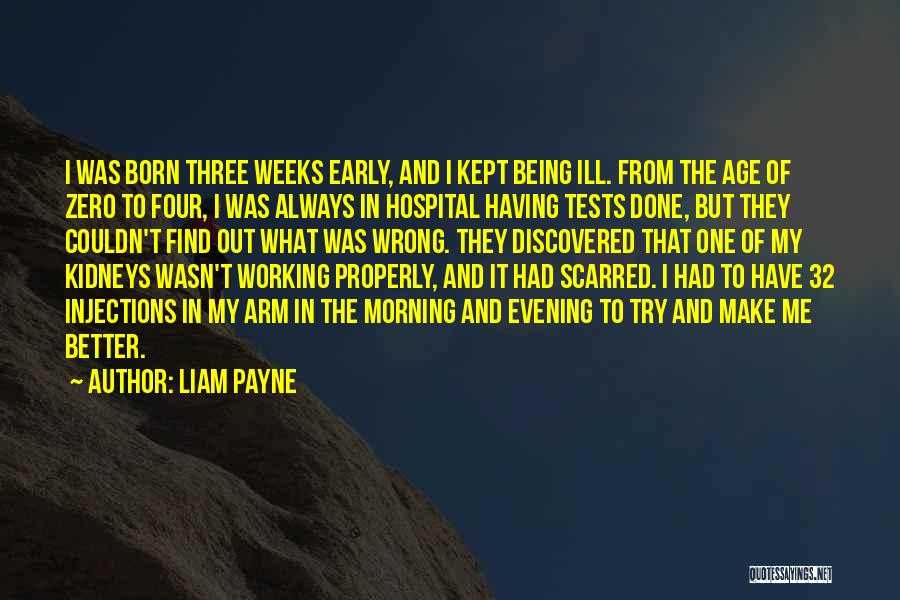 Scarred Quotes By Liam Payne