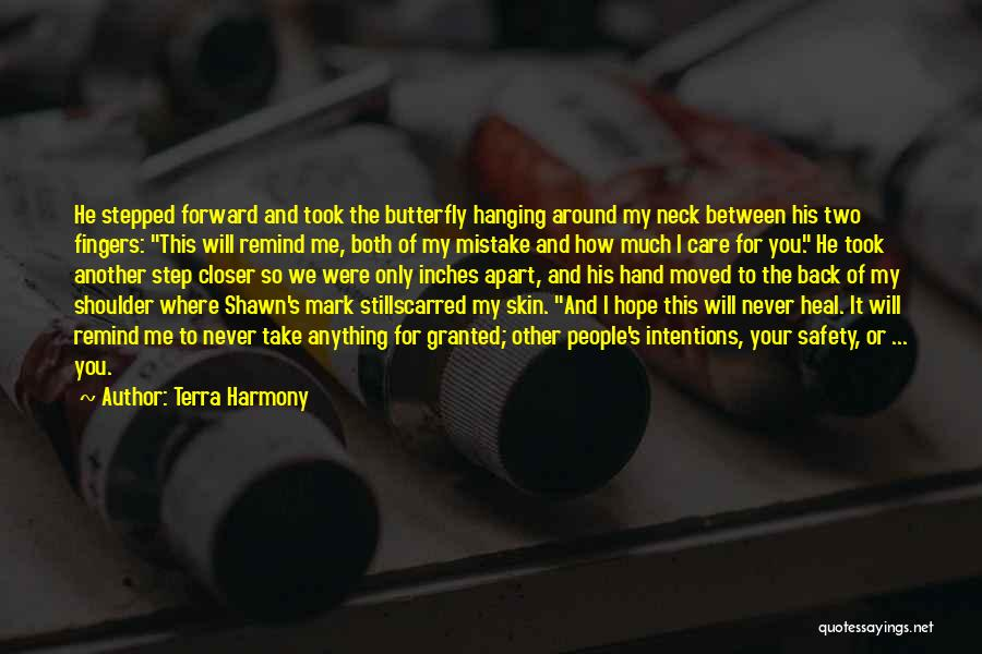 Scarred Quotes By Terra Harmony