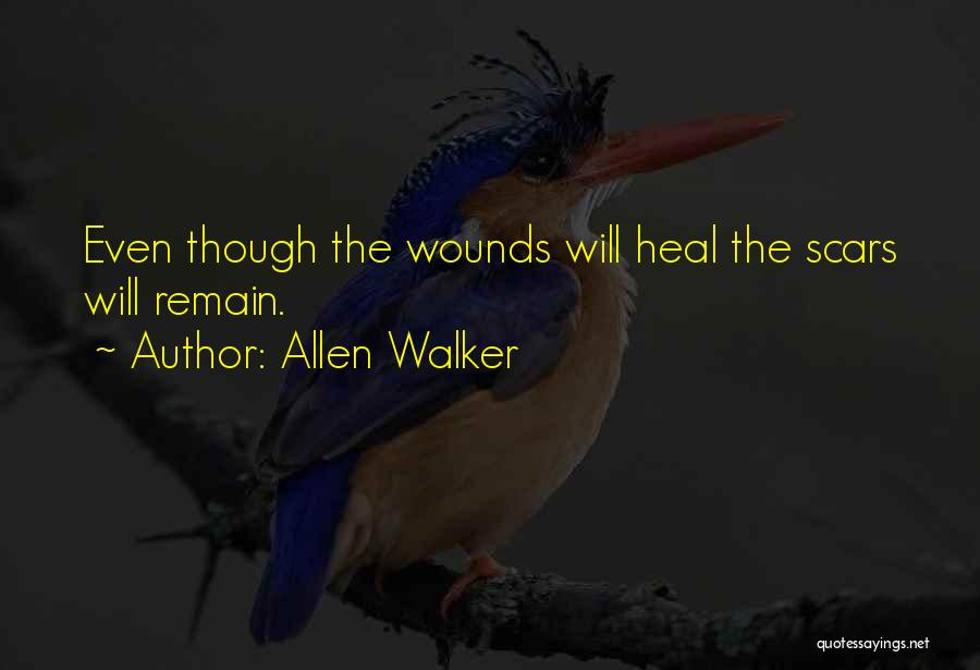 Scars Heal Quotes By Allen Walker