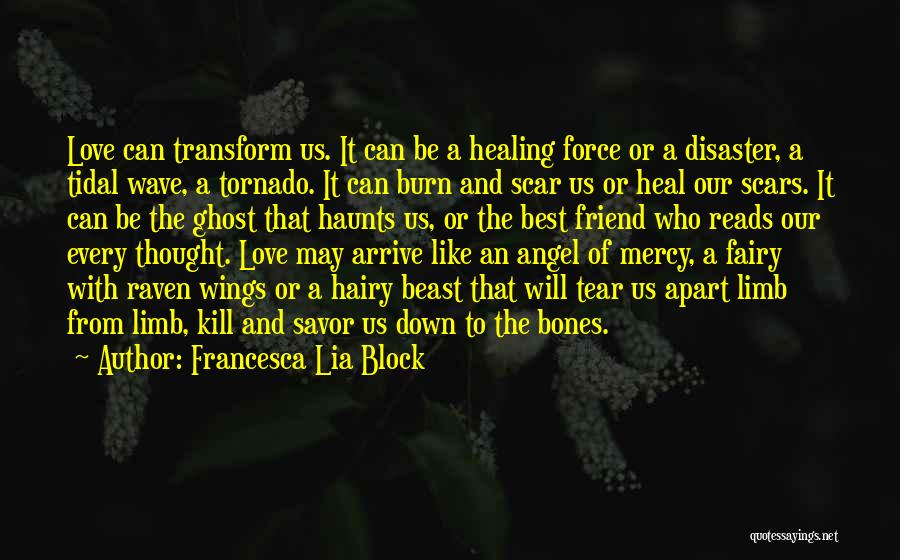 Scars Heal Quotes By Francesca Lia Block