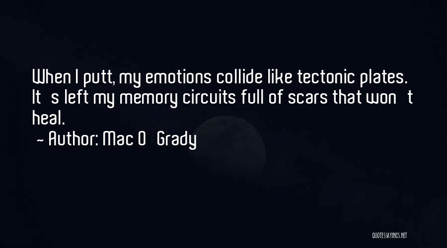 Scars Heal Quotes By Mac O'Grady