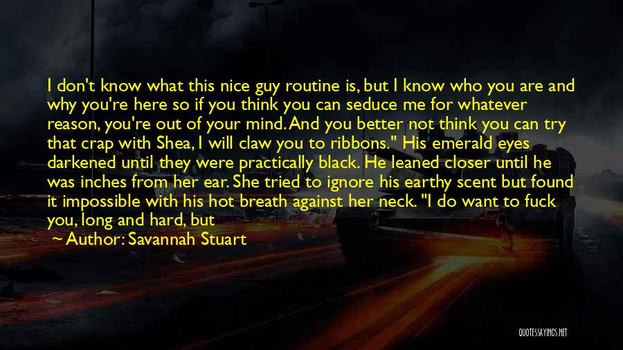 Scent Of A Woman Quotes By Savannah Stuart