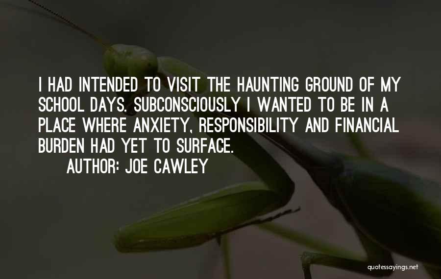 School Days Quotes By Joe Cawley