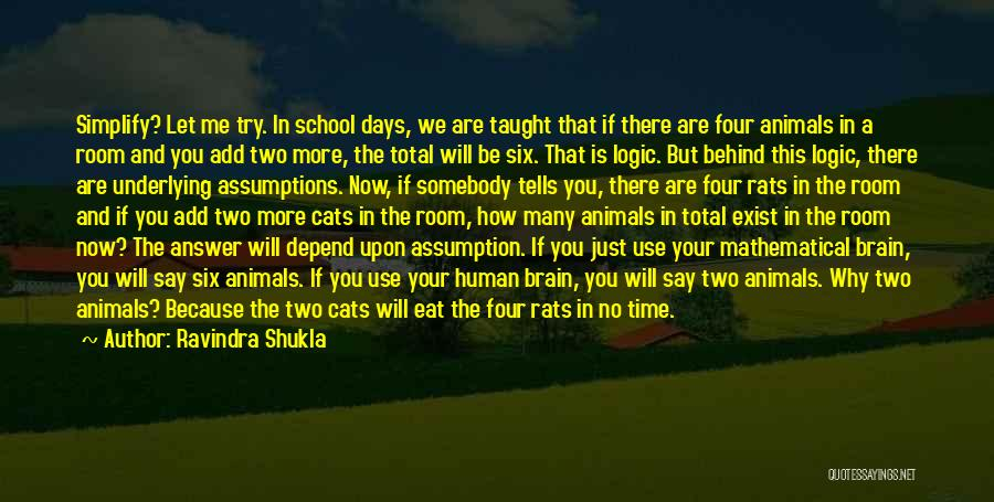 School Days Quotes By Ravindra Shukla