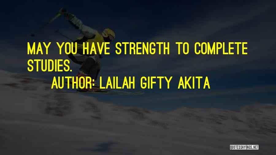 School Life Quotes By Lailah Gifty Akita