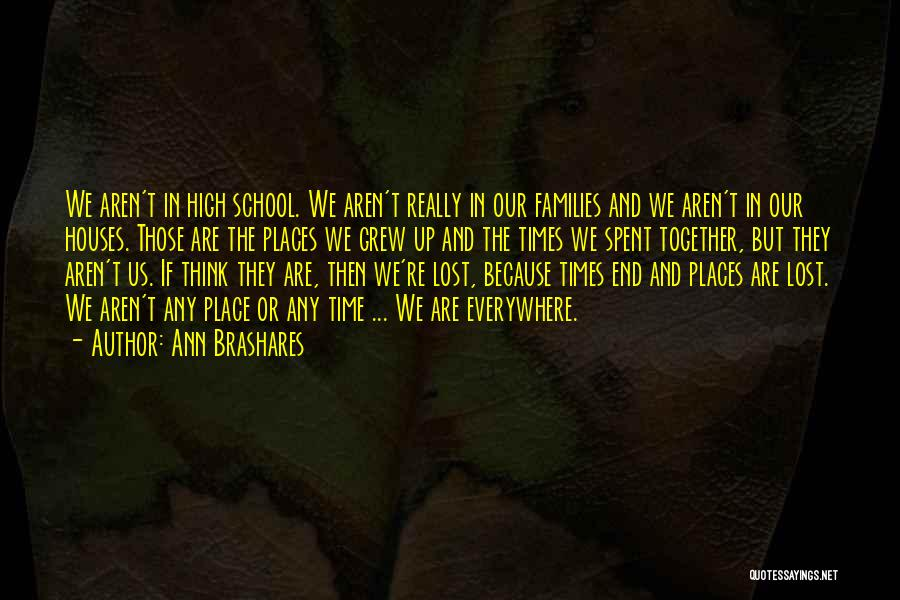 School Quotes By Ann Brashares