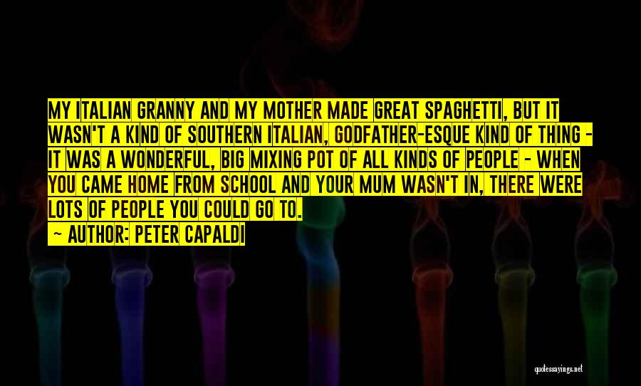 School Quotes By Peter Capaldi