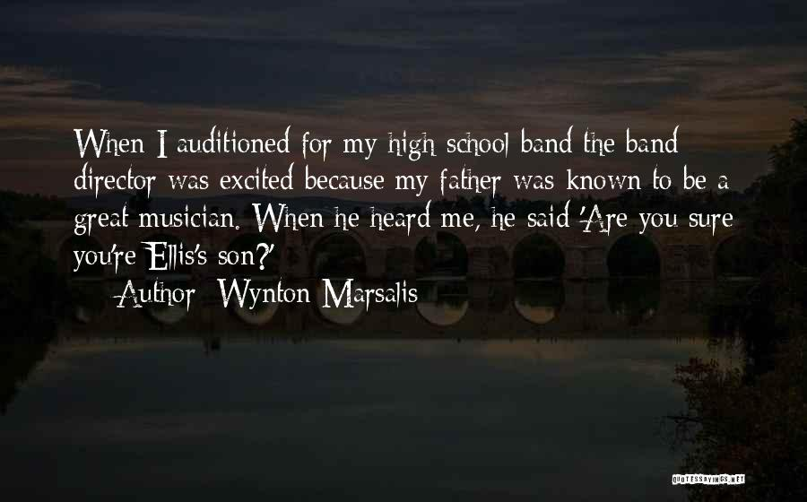 School Quotes By Wynton Marsalis