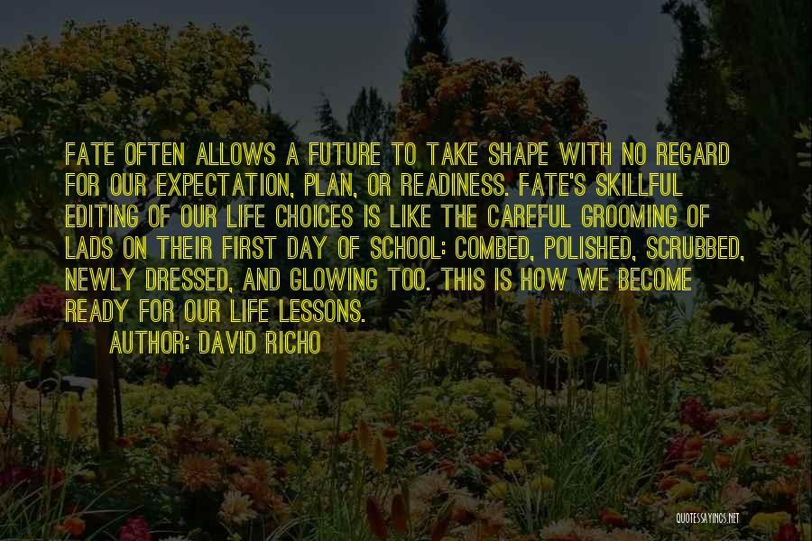 School Ready Quotes By David Richo