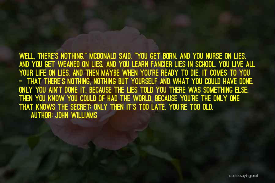 School Ready Quotes By John Williams