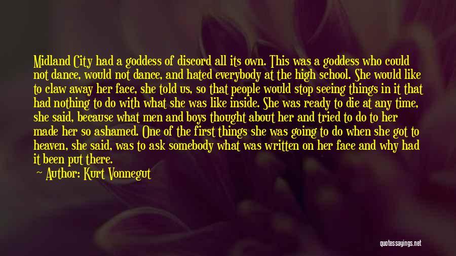 School Ready Quotes By Kurt Vonnegut