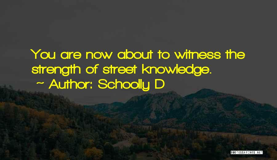 Schoolly D Quotes 1024007