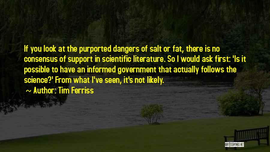 Science Consensus Quotes By Tim Ferriss