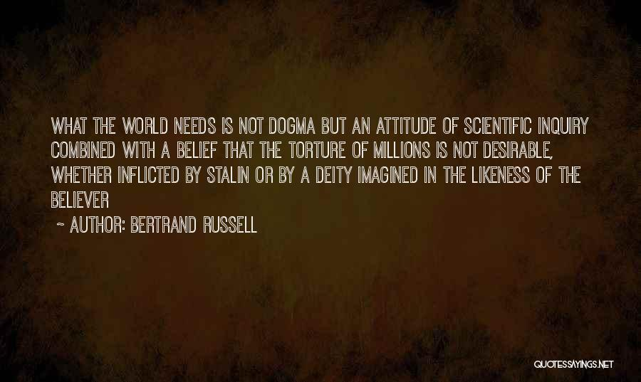Scientific Inquiry Quotes By Bertrand Russell