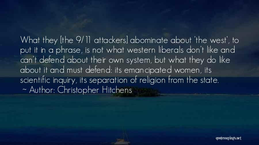 Scientific Inquiry Quotes By Christopher Hitchens