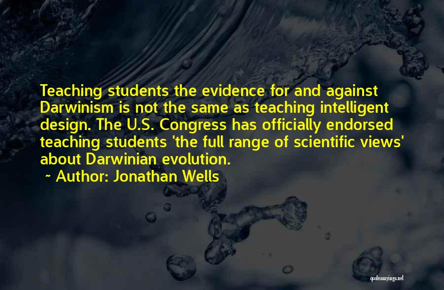 Scientific Inquiry Quotes By Jonathan Wells