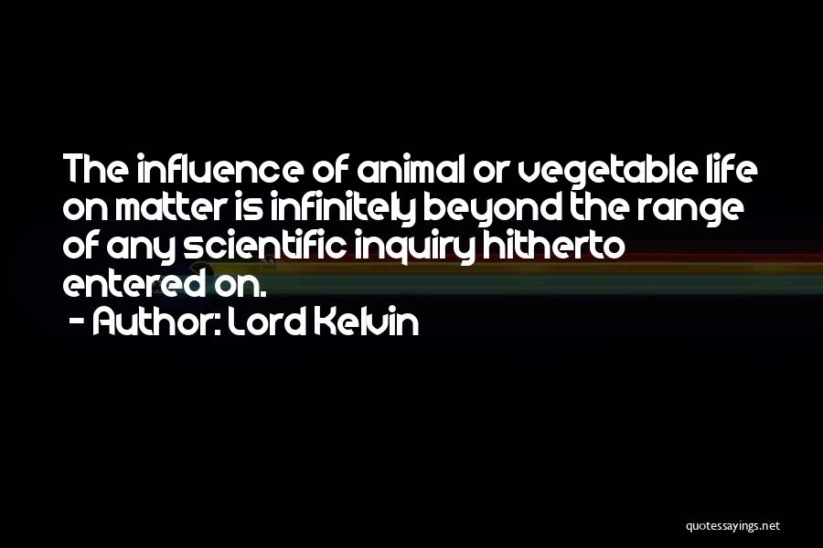 Scientific Inquiry Quotes By Lord Kelvin