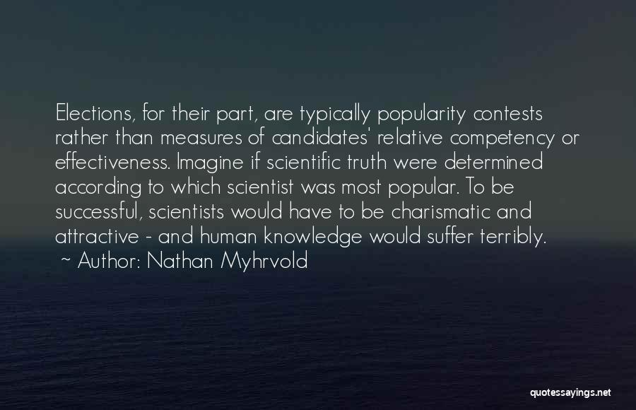 Scientific Knowledge Quotes By Nathan Myhrvold