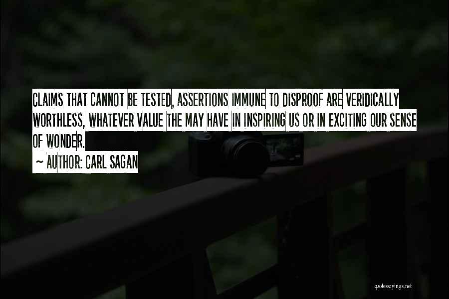 Scientific Theory Quotes By Carl Sagan