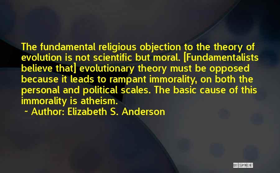 Scientific Theory Quotes By Elizabeth S. Anderson