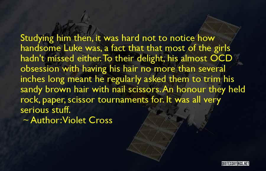 Scissor Quotes By Violet Cross
